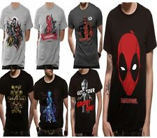 Marvel Superheros T Shirts Avengers Infinity War Deadpool Guardians Official UK