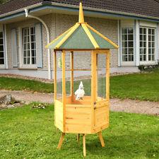 VOLIERA VOLIERA gabbia per uccelli XXL 6-eck Casetta gabbia per uccelli legno casa
