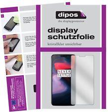 2x OnePlus 6 Protector de Pantalla protectores transparente dipos