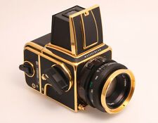"""Hasselblad 2000FC/M Gold  """"100 Years in Photography 1885-1985""""  Sonderedition"""