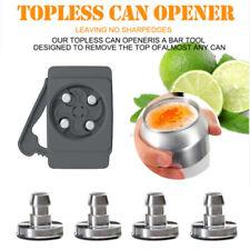 Portable Easy Drink Beer Can Opener Universal Opener Topless Bottle Beer Opener