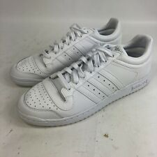 Mens 12 Adidas Top Ten Lo Shoes Sneakers Classics Triple White Low Top C77113