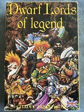 Warhammer Dwarf Lords Of Legend Boxed Citadel Games Workshop Metal Mint Dwarves