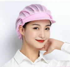Chef Cap Hair Nets Cook Hats Hotels Catering Restaurant Shop Wear One Size Hats