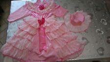 vestito carnevale principessa rosa con cappellino usato 2 volte taglia 4/6 an