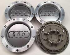 4x audi rs alloy wheel centre hub caps tt A1 A2 A3 A4 A5 A6 A7 A8 q s-line uk
