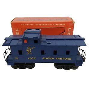 Vintage Lionel 6027 Alaska Railroad Caboose w/ Box