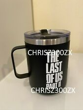 The Last of us Part II 2 Ellie Edition Joel Ruston Camper Stainless Mug Cup 16.9