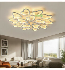 New Acrylic Modern Led Butterfly Ceiling Chandelier Lights Living Room Bedroom