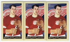2009 Goodwin Champions #140 Gordie Howe MINI 3 Card Lot(Total Book Value $24)