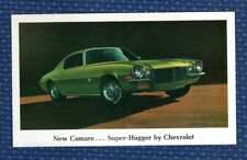 Lot of 5 - New Old Stock UNUSED 1970 Chevrolet CAMARO Super-Hugger Postcards