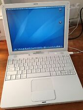 "Apple iBook G4 A1133 1.33ghz 12.1"" with OS X 10.5 Leopard Lot Available"