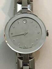 Movado Sapphire Ladies Watch 0606815