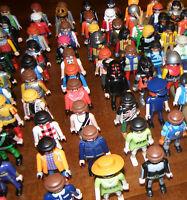 40 Playmobilfiguren / 40 Figuren von Playmobil Konvolut Sammlung Kiste TOP!