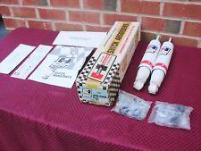 62-67 CHEVROLET CHEVY II NOVA NOS REAR HURST ADJUSTABLE RACE SHOCKS