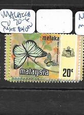 MALAYA   MALACCA   (PP1007B)  BUTTERFLY  SG 70-6  SET   MNH