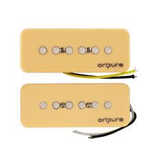 OriPure P90 Soapbar Electric Guitar Pickups Single Coil Neck & Bridge Pickups
