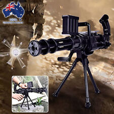 CS Game Gatling Shooting Toys Gun Foam Dart and Crystal Water Polymer Ball