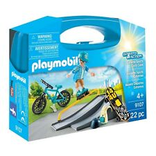 Playmobil City Sports And Action Extreme Sports Carry Case Building Set 9107 NEW