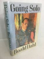 Going Solo by Roald Dahl 1986 Hardocover 1st Edition