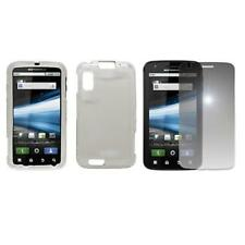 for Motorola Atrix 4g Clear Case Cover+Mirror SP