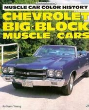 Chevrolet Big-Block Muscle Cars Muscle Car Color History Series