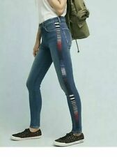 Levis Made and Crafted Jeans 721 high rise skinny 25 x 30 embroidered french