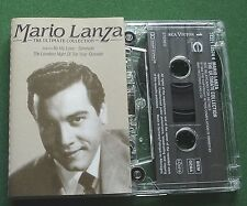 Mario Lanza Ultimate Collection inc Be My Love & Granada + Cassette Tape TESTED