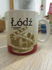 ▓▓ Starbucks City Mug LODZ Poland Icon * FREE SHIPPING * NEW with SKU * 16oz ▓▓