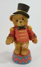 "Cherished Teddies Circus Ringmaster Figurine ""Bruno"" 1995 Step Right Up! Enesco"