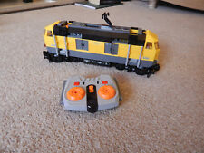 LEGO train 7939 yellow cargo freight locomotive also 60052 60098 60198