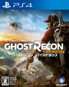 Ghost Recon Wildlands Sony Playstation 4 PS4 Games From Japan Tracking# USED