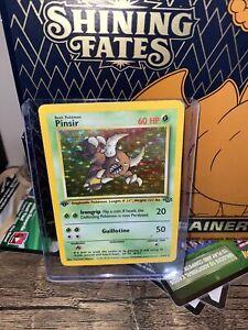 1st Edition WOTC Pokemon Jungle Set PINSIR RARE 9/ 64 Card Holo