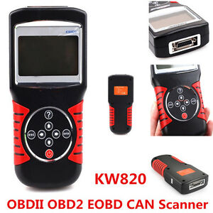 KW820 OBD2 OBDII CAN Car Scanner Fault Code Reader Engine Diagnostic Scan Tool