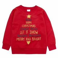 Kids Christmas Sweatshirt Jumper. Ages 7 to 13 Years