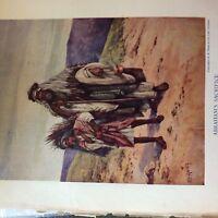 A1b ephemera book plate e s hardy abraham's sacrifice