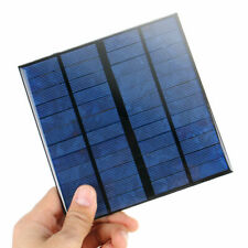 12V 3W Mini Power Solar Panel Module Systerm DIY For Battery Cell Phone Charger