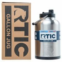RTIC® One Gallon Water Jug / Bottle, Insulated Stainless Steel Tumbler Rambler