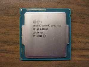 Intel Sockel 1150  Xeon E3-1275V3  Quad-Core  3,50GHz/8M SR14S