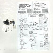 Ratchet Repair Kit 11906 Teardrop Quick Release Ratchet NB-46 NB-56 NB-57