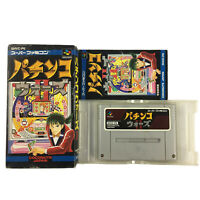 Nintendo Super Famicom Pachinko Wars II NTSC-J Japan SNES SHVC-P6 Complete Boxed