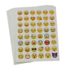 20 Sheets Die Cut Phone Emoji Sticker Decal for Diary Book Cards Scrapbook