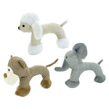 Squeaky Dog Toys for Aggressive Chewers Soft Plush Stuffed Pet Toy Bite Play