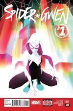 SPIDER-GWEN #1 VOLUME ONE 1ST FIRST PRINT SPIDER-VERSE MARVEL COMICS 2015