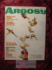 ARGOSY magazine October 1966 Oct 66 PHEASANTs DICK FRANCIS TOM NEALE VIETNAM +++