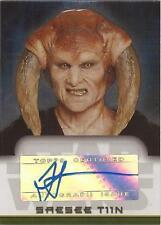 "Star Wars Evolution Update - Jesse Jensen ""Saesee Tiin"" Auto / Autograph"