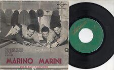 MARINO MARINI raro disco EP 45 giri STAMPA SPAGNOLA  Rock around the clock + 3