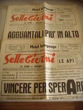 DUE RIVISTE CALCIO 1968 SETTEGIORNI - BARI MUIESAN INTER FOGGIA PISA NAZIONALE