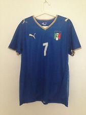 ITALY#7 DEL PIERO PLAYER ISSUE AUTHENTIC SHIRT JERSEY RARE ITALIA MAGLIA