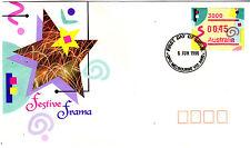1996 Festive Frama FDC - GPO Melbourne 3000 PMK